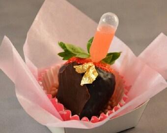 40pc Mini Flavor Liquor INJECTORS Mini Pipettes for Cupcakes, Strawberries 0.2ML