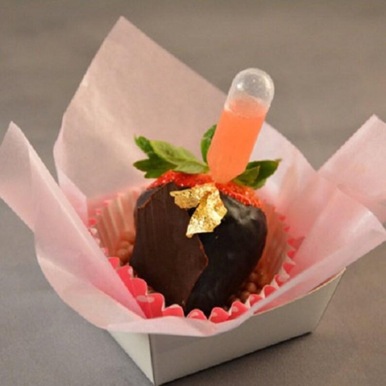 40pc Mini Flavor Liquor INJECTORS Mini Pipettes for Cupcakes image 0