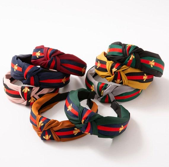 PROMO - Fabric Colorful Top knotted Headband, Wide Hairband, Hair hoop, Women Hair Accessory, Fashion Trendy Causal Headband