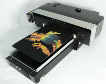 DTG Direct To Garment T-Shirt Personal DIY Printer build Video, PDF and software
