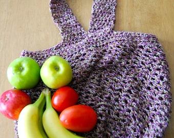 Market Bag, Beach Bag, Reusable Bag, Tote, Cotton Tote, Crochet Bag, Multi-Purpose Bag, Produce Tote, Toy bag, READY TO SHIP