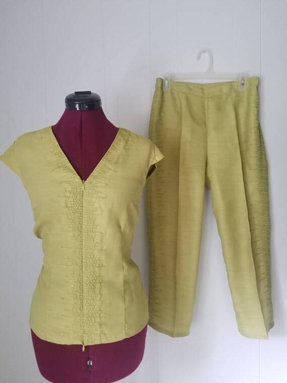 Y2K, Selene Sport, Matching, Lime Green, 2 Piece,