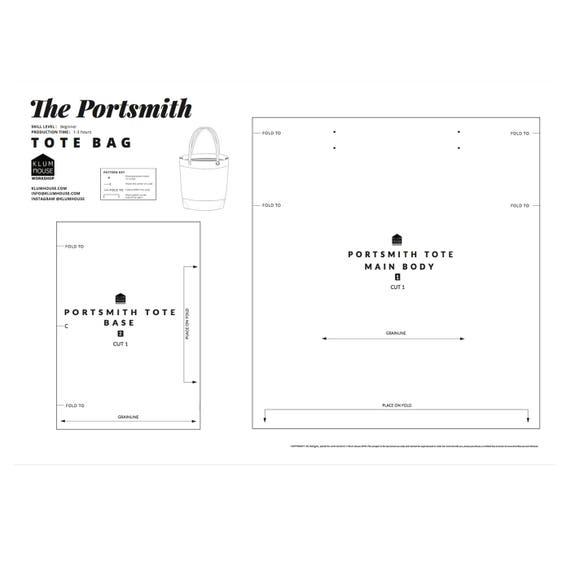 Schnittmuster Markt-Tasche Tasche PDF-Muster Markt-Tasche   Etsy