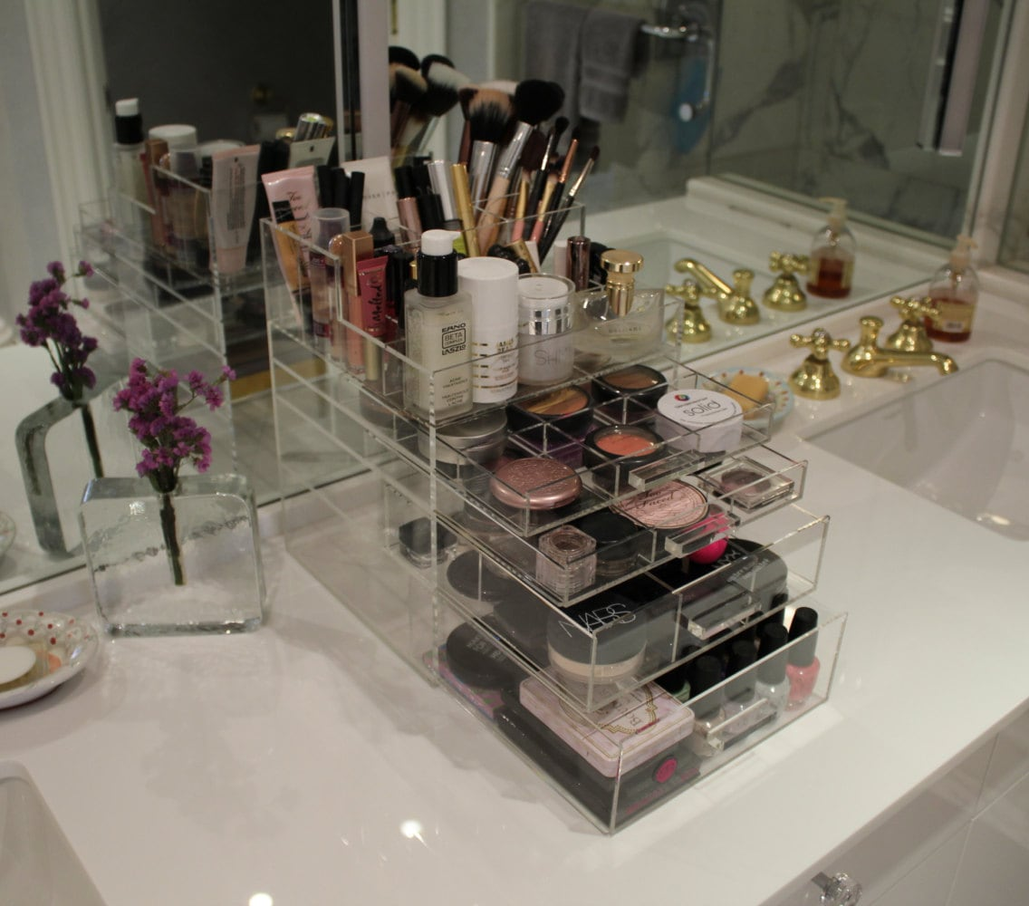 Clear Drawer Organizer Makeup