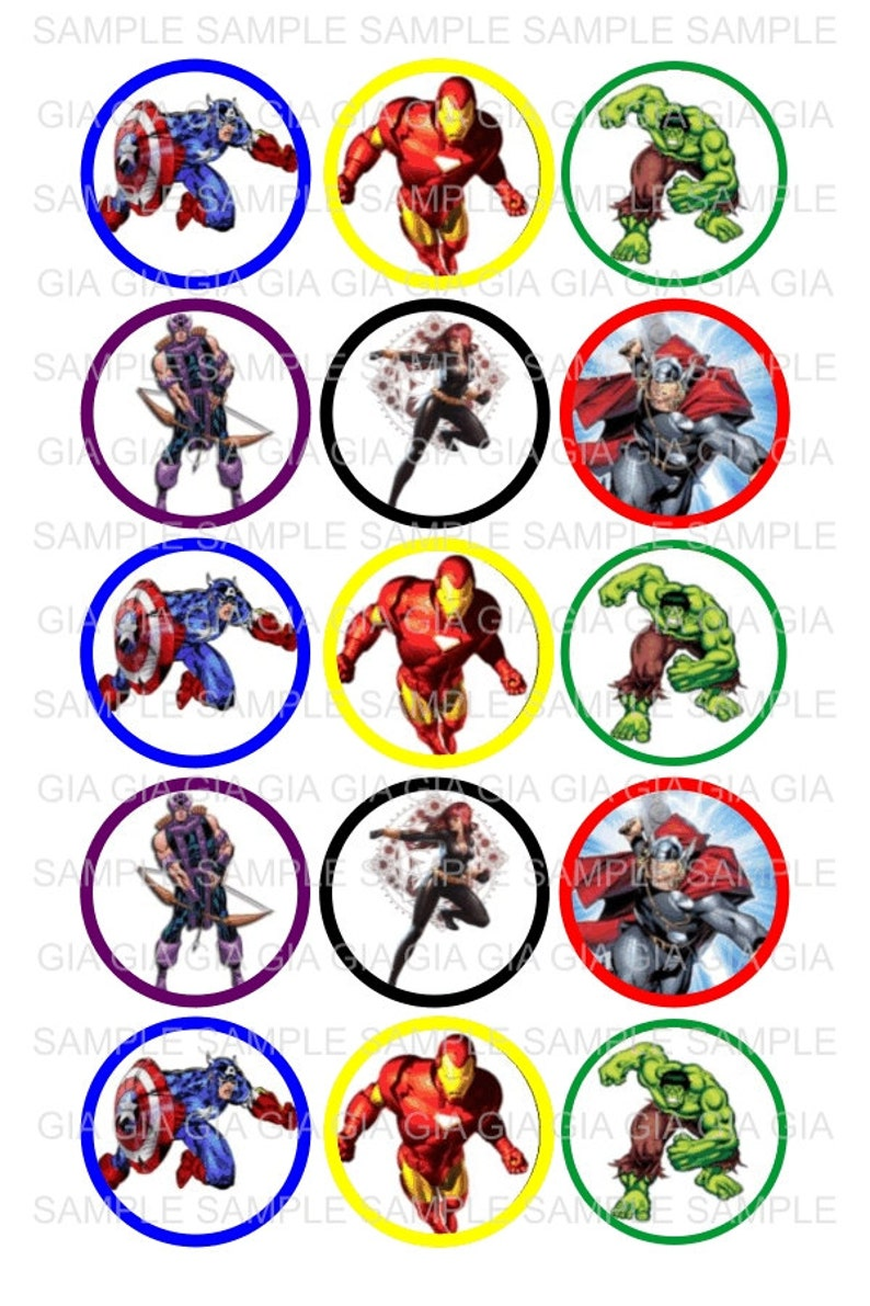 picture relating to Printable Bottlecap Images identify Avengers - 1 inch Bottle Cap Pics 4x6 Printable Bottlecap Collage Prompt Obtain