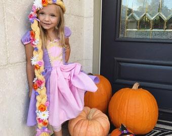 Floor Length Rapunzel Braid, Rapunzel costume braid, Tangled costume, Tangled braid, Tangled party, Rapunzel wig