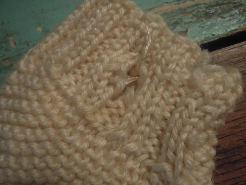 Vintage Knit Child/'s Stockings  Children/'s Knee Socks  Knit Stockings