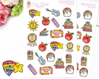 Motivational Teacher Stickers |Teacher Reward Stickers | Teacher Stickers | Reward Stickers