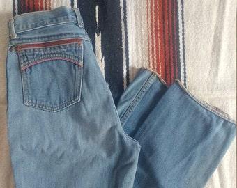 """VTG Pentimento denim 1970's jeans high waisted 26"""""""
