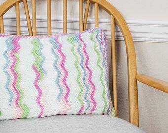 Crochet Rectangle Cushion