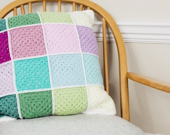 Crochet Square Cushion