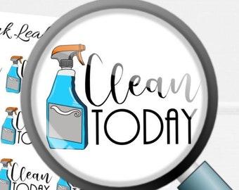 Clean Today | Deco Planner Sticker Mini Sheet