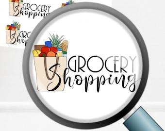 Grocery Shopping | Deco Planner Sticker Mini Sheet