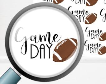 Game Day | Football | Deco Planner Sticker Mini Sheet