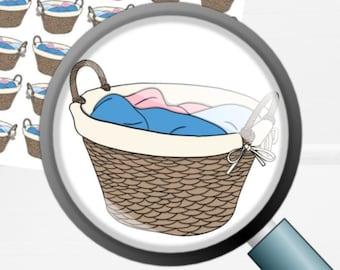 Laundry | Deco Planner Sticker Mini Sheet