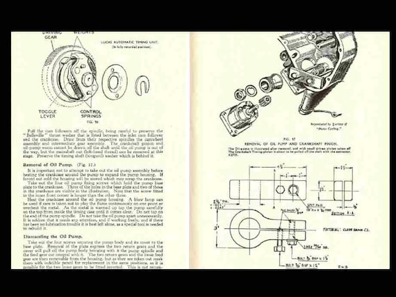 VELOCETTE VIPER Venom Workshop Manual with 110 pgs for Thruxton Clubman on