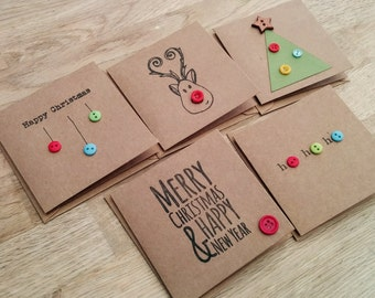 etsy christmas cards