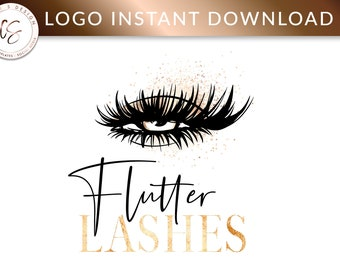 Eyelash logo | Etsy