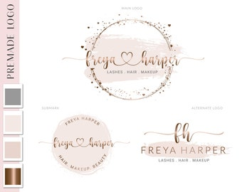 Logo Design, Photography Logo, Beauty Logo, Boutique Shop Logo, Branding Kit