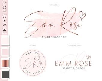 Beauty Logo Design, Makeup Logo, Photography Logo, Premade Logo design, Custom logo Design