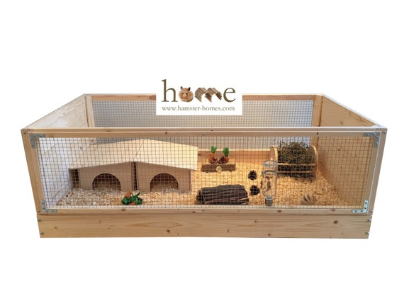 Large Indoor Guinea Pig Cage C C Style 120x60cm Etsy