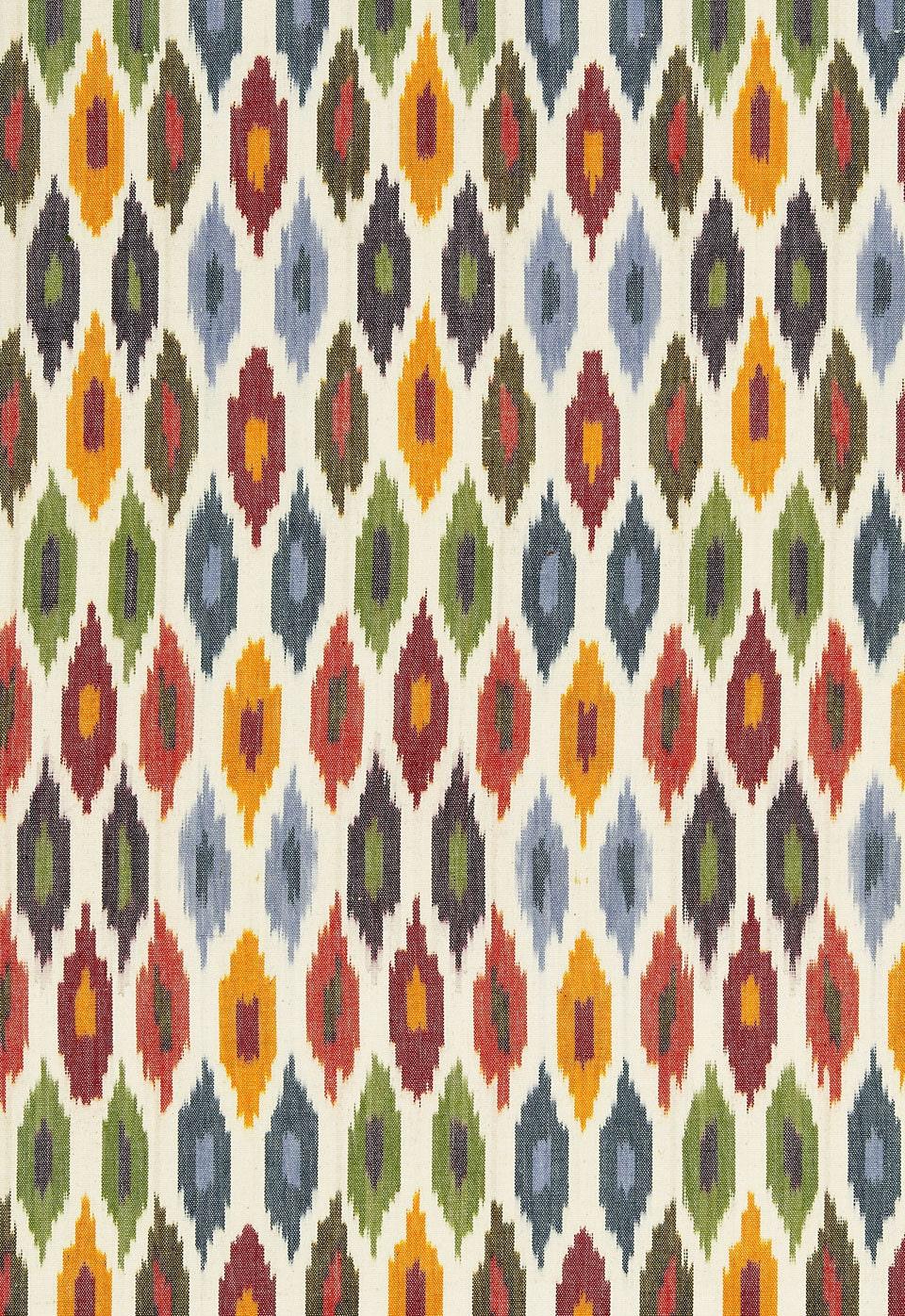 SCHUMACHER ethnique Chic Sunara IKAT KILIM coton coton coton tissu 10 verges Spice 8d69c1