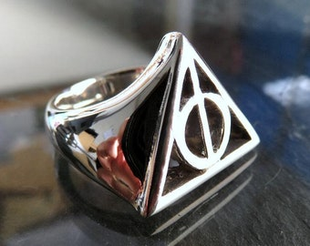 Heavy Solid Sterling Silver Ring Magic Folklore Witchcraft Pagan Sobriety