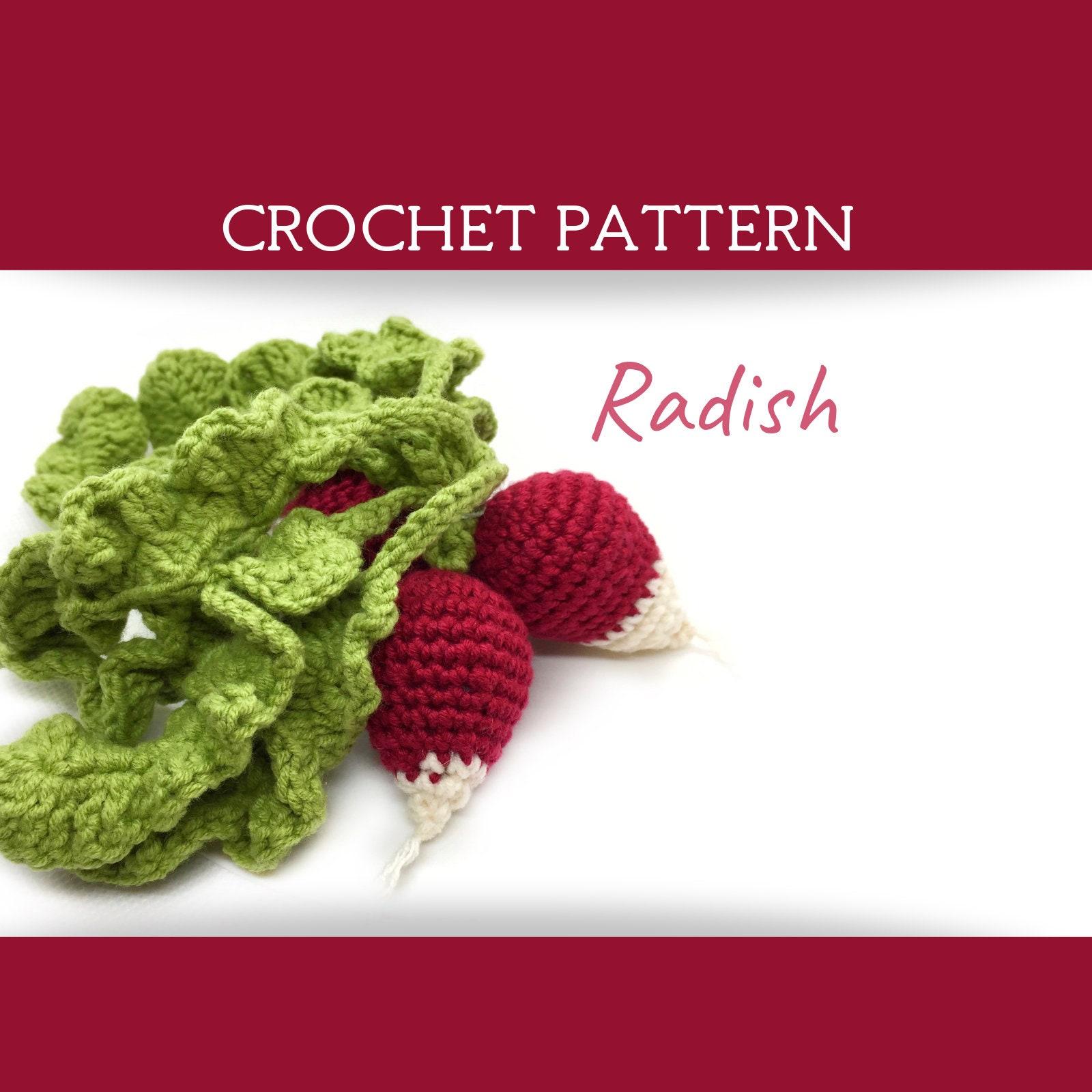 FREE Vegetables Crochet Pattern / Tutorial | Crochet fruit ... | 1600x1600