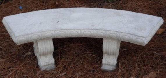 Concrete Bench Outdoor Furniture Patio Decor Patio Bench   Etsy