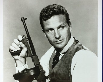Robert Stack Signed Photo