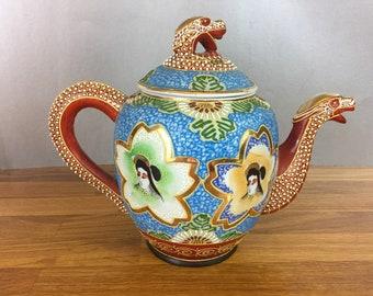 Dragonware/ Satsuma Teapot