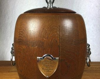 Biscuit Barrel/ Tea Barrel