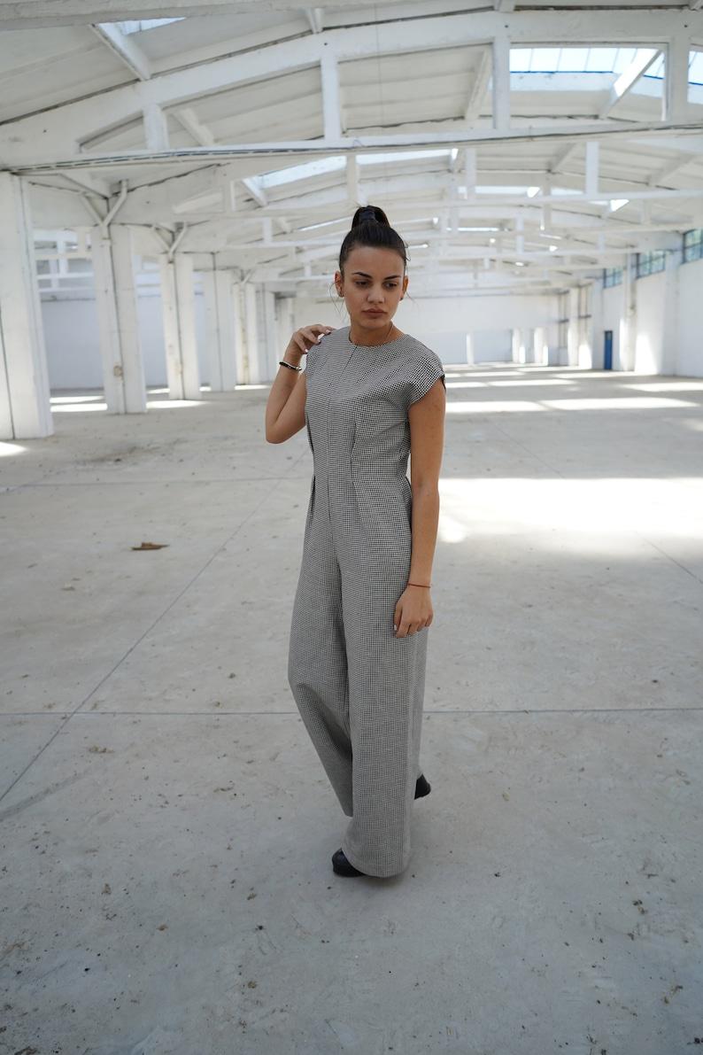 8d1a88dc751 Linen Jumpsuit Plus Size Clothing Formal Jumpsuit Jumpsuit