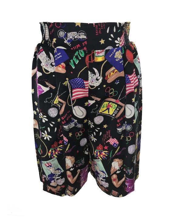NICOLE MILLER Vintage 1990s Shorts American 4th J… - image 2