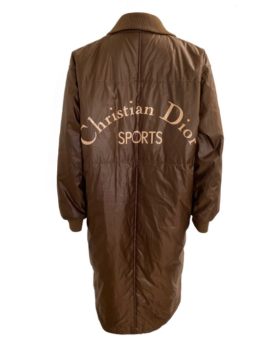 CHRISTIAN DIOR Sports Vintage CD Logo Puffer Coat,