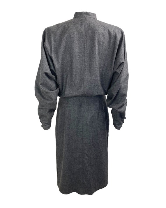 GUCCI 1970s Batwing Dress Beaded Duster Jacket - image 2