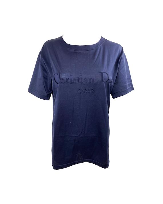 CHRISTIAN DIOR Sports Vintage Logo Monogram Tshirt