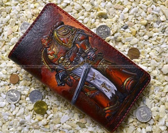 "Long wallet ""The Blood Angel'. Warhammer"