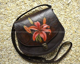 """Real Leather bag """"Lily"""""""