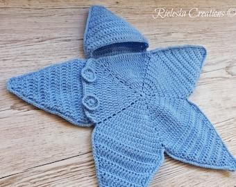 Crochet Baby Bunting Etsy