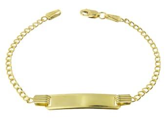 10k Gold Bracelet Etsy