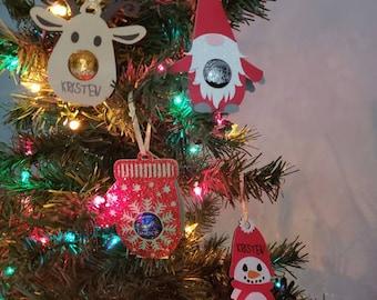 Christmas Chocolate Ornaments