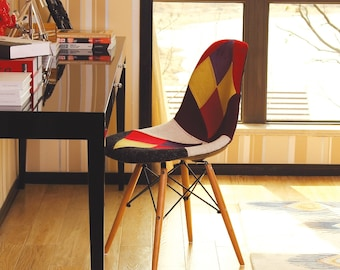 Patchwork Chair Etsy