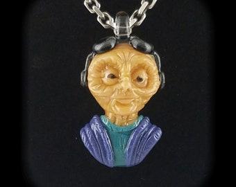 Maz Kanata Star Wars The Force Awakens Fan Art Borosilicate Glass Pendant by Fish