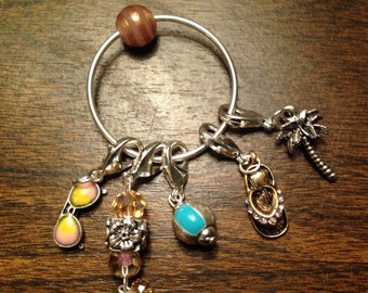 Vacation Knitter's Stitch Markers - small