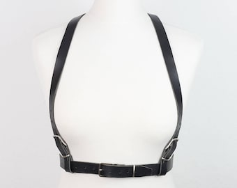 NEW!!! Bilateral Leather BODY HARNESS