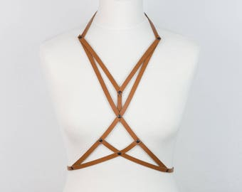 02 Leather BODY HARNESS