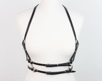 NEW! Bilateral Leather BODY HARNESS