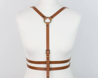 Bilateral Carmel Leather BODY HARNESS