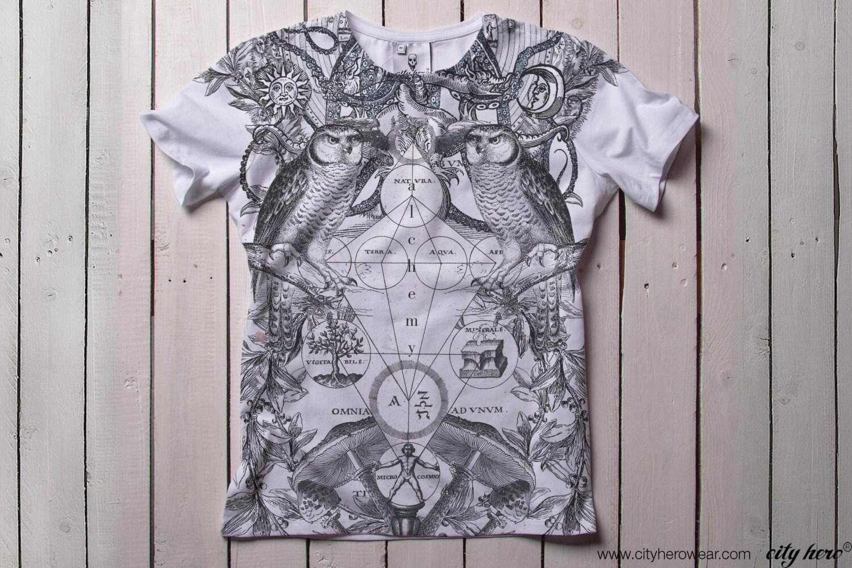 Mystique t-shirt Alchemy alchimie mens t-shirt chemise occulte alchimique alchimique alchimique t-shirt tee Graphic impression ésotérique cadeau pour lui 033c08